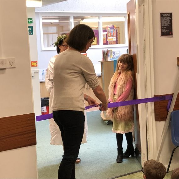 Ackworth Mill Dam Library Opening 2